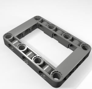 框架(5X7)积木零件包